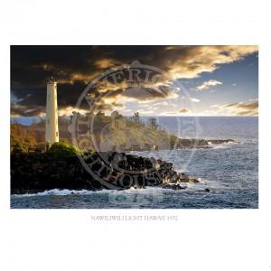 Nawiliwili Light Hawaii 1932