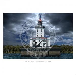 0351-DeTour-Reef-Lighthouse-Michigan-1931