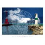 Pentwater Pier Light Michigan 1937 1997