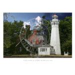 Port Sanilac Light Michigan 1886
