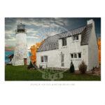 Presque Isle Old Light Michigan 1840