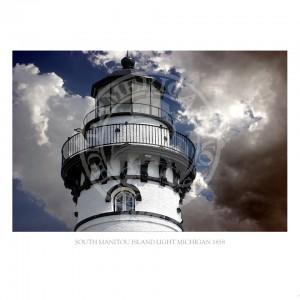 South Manitou Island Light Michigan 1858