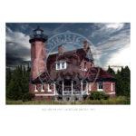 Squaw Island Light Michigan 1892