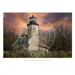 White River Light Michigan 1875