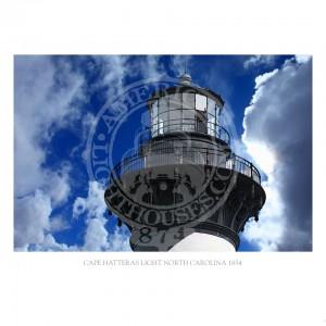 Cape Hatteras Light North Carolina 1854