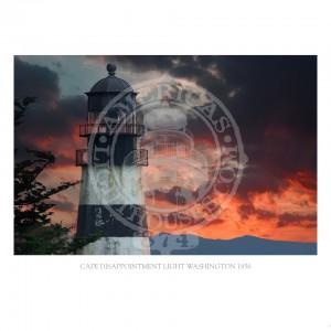 Cape Disappointment Light Washington 1856