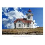 Patos Island Light Washington 1893