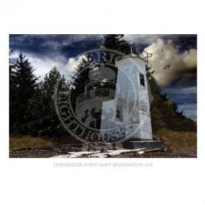 Dofflemeyer Point Light Washington 1934