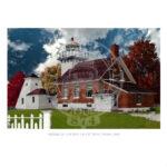 Sherwood Point Light Wisconsin 1883