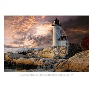 Annisquam Light Gloucester Massachusetts 1897